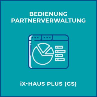 Bedienung Partnerverwaltung